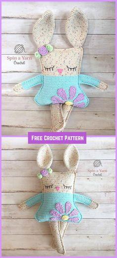 Crochet Ragdoll Spring Bunny Free Pattern