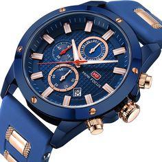 8d53f0f1a Amazon.com: Men Business Watches Chronograph,MINI FOCUS Fashion Waterproof  Quartz Wrist Watch
