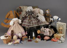 doll with trunk full of clothes