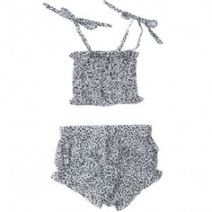 Anais and I - Baby Girl Retro Swim Suit Maillot