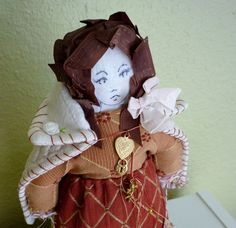 Fantasy Cloth Art Doll  Valerie by Thimblegirls on Etsy, $64.00