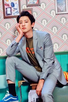 Image shared by captivating_weirdo. Find images and videos about kpop, exo and park chanyeol on We Heart It - the app to get lost in what you love.