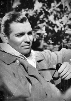 Clark Gable--WOW--I think his SON really resembles him in this picture.