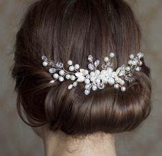 Braut Haarkamm Hochzeit Haarkamm Crystal Bridal Haare kämmen