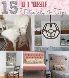 15 Beautiful Cottage Decor Do It Yourself Projects