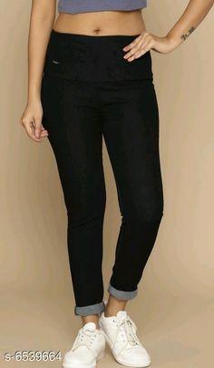 Jeggings Stylish Women's Jeggings Fabric: Denim Multipack: 1 Sizes:  34 (Waist Size: 34 in Length Size: 39 in)  36 (Waist Size: 36 in Length Size: 39 in)  38 (Waist Size: 38 in Length Size: 39 in)  28 (Waist Size: 28 in Length Size: 39 in)  40 (Waist Size: 40 in Length Size: 39 in)  30 (Waist Size: 30 in Length Size: 39 in)  32 (Waist Size: 32 in Length Size: 39 in) Country of Origin: India Sizes Available: 28, 30, 32, 34, 36, 38, 40   Catalog Rating: ★4 (235)  Catalog Name: Free Mask Elegant Feminine Women Jeggings CatalogID_1041860 C79-SC1033 Code: 335-6539664-5931