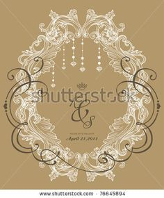 Vintage Card Stock Vector 76678255 : Shutterstock