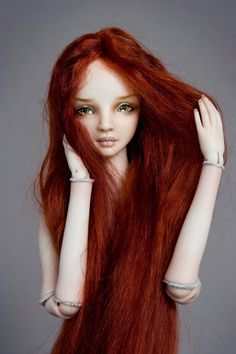 Firebird - Enchanted Doll by Marina Bychkova