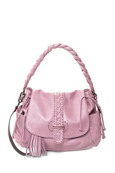 Olivia Leather Shoulder Bag by Carla Mancini on @HauteLook