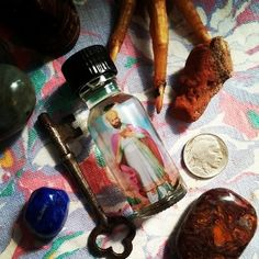 St. Cyprian Oil-Patron Saint of Witches, Conjure Folk, Occultist