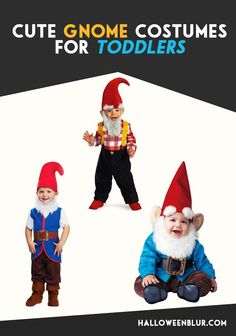 Gnome Costumes For Boy Toddlers: http://www.halloweenblur.com/gnome-boy-toddler-costumes/ #halloweencostumes @halloweenhangar #halloween #gnome