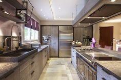 - Cuisine contemporaine Wood Steel