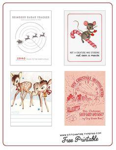 Free December Daily Printables