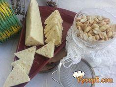 Beli kikiriki trouglovi (2) - Recepti.com Praline Recipe, Cookie Recipes, Dessert Recipes, Pie Dessert, Something Sweet, Miniature Food, Cheddar Cheese, Cake Cookies, Just Desserts
