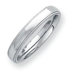 Daniels Jewelers :: Palladium Wedding Band
