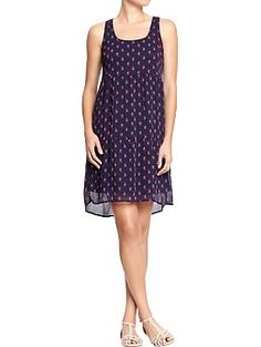 Womens Chiffon Tank Dresses at OldNavy.com