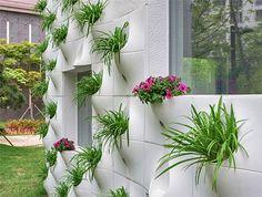 Flower Pots Wall
