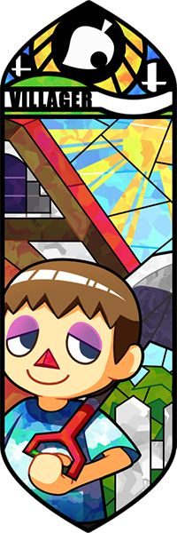 Smash Bros - Villager #5 by Quas-quas on deviantART