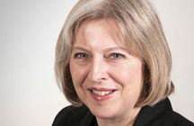 The Right Honourable Theresa May MP - Theresa May was appointed Home Secretary in May 2010. She is the Conservative MP for Maidenhead.