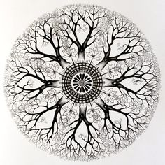 Shop for cheap Custom Mandala Tree Circle Tattoo Design - Mandala Tattoos Tumblr for Fashion Girls