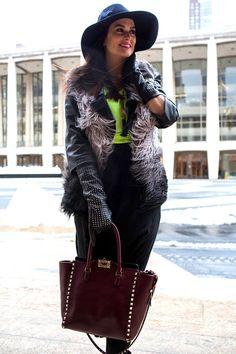 El streetstyle de New York Fashion Week Otonño 2013