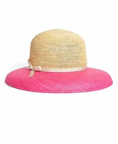 2d3cf81f234 Hats off to this little pink-and straw number from Brooks Brothers. Spring  Outfits