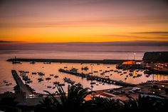 Sunset at Baleeira Port by Jorge Gomes