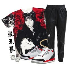 R.I.P. Aaliyah, created by dope-goddess on Polyvore