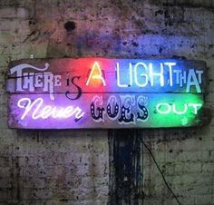 #There'sALightThatNeverGoesOut #TheSmiths #Morrissey There Is A Light That Never Goes Out - Chris Bracey