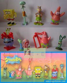 Set Spongebob 8 Paper Ferrero Russia   eBay=1167