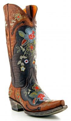 Womens Old Gringo Bonnie Boots Volcano Brass #L649-1