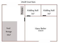 Goat Barn Layout More