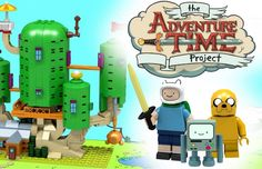 Finn, Jake e todos os personagens de Adventure Time seriam recriados como peças de Lego. O projeto que ainda é conceito está em fase de aprovação final.