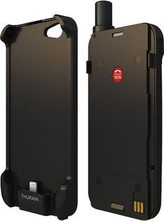 Softbank - Satellite phone, shaped like a smartphone case, that works with iPhone 5.