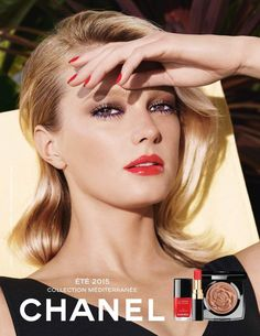 CHANEL Summer 2015 Make Up Collection | Sigrid Agren by Sølve Sundsbø #Chanel #beautycampaigns #summerbeauty