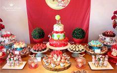 decoração de festa vermelha - Pesquisa Google