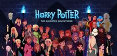 Harry Potter The Animated Adventures - Stephen Byrne