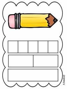 SEGMENTATION OF WORDS IN SPANISH -SCHOOL AND HOUSEHOLD ITEMS - TeachersPayTeachers.com