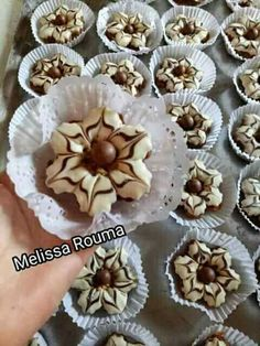 Pâtisserie orientale Pastry Recipes, Cookie Recipes, Dessert Recipes, Arabic Sweets, Arabic Food, Lemon Chess Pie, Pastry Design, Instant Pudding, Cakes And More