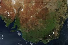 Spring Greening Down Under : Image of the Day : NASA Earth Observatory