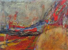 Sherry Krulle-Beaton Of Ribbons and Red Earth Acrylic