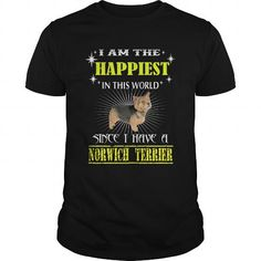 NORWICH TERRIER T Shirts, Hoodies. Get it here ==► https://www.sunfrog.com/Pets/NORWICH-TERRIER-Black-Guys.html?41382