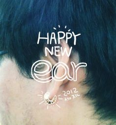 Sung Jin : Happy New EAR 2012.   The Year 2012 Will Be Full of Good News!