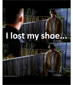 Possibly my favorite supernatural quote ever. He just looks so pitiful.
