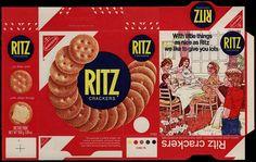 UK - Nabisco - Ritz Crackers