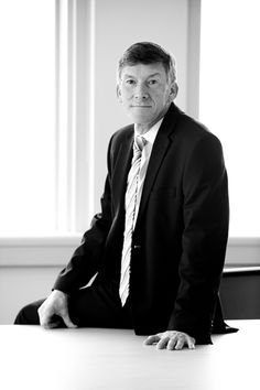 Black and White Business Portrait