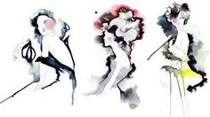 Image result for fashion illustration watercolour