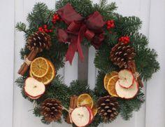 ghirlande natalizie con frutta secca - Cerca con Google