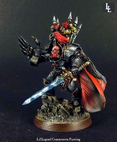 High quality professional commission painting service for Games Workshop Forgeworld, and all miniature hobby games. Warhammer Art, Warhammer 40000, Chaos Legion, Miniaturas Warhammer 40k, Chaos 40k, Sons Of Horus, Painting Services, Space Marine, Model Building