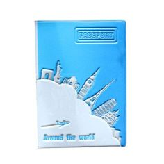 22 Styles 2016 fashion Europe Style 3D Passport Holder PVC Travel Passport Cover Case,14*9.6cm Card & ID Holders Mini Order 1pcs